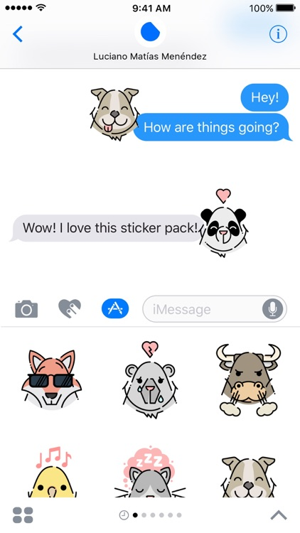 Little Animals Stickers screenshot-3