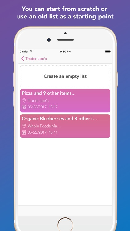 Whay: Shopping List screenshot-3