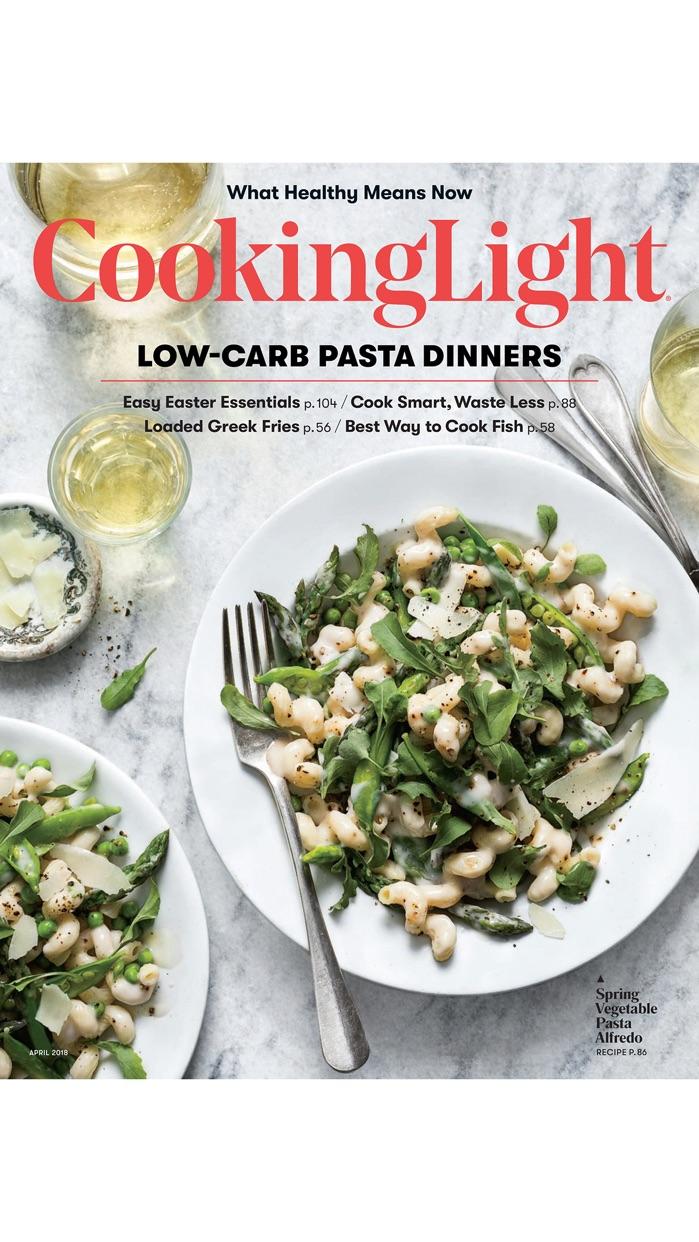 Cooking Light Magazine Screenshot