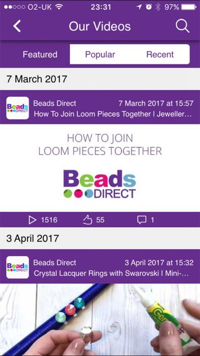 Beads Direct screenshot two