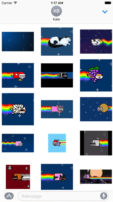 download Animated Cute Nyan Cat Sticker apps 1