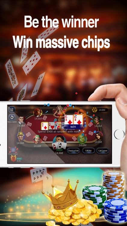 Texas Holdem - Casino Games screenshot-0