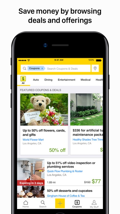 The Real Yellow Pages review screenshots