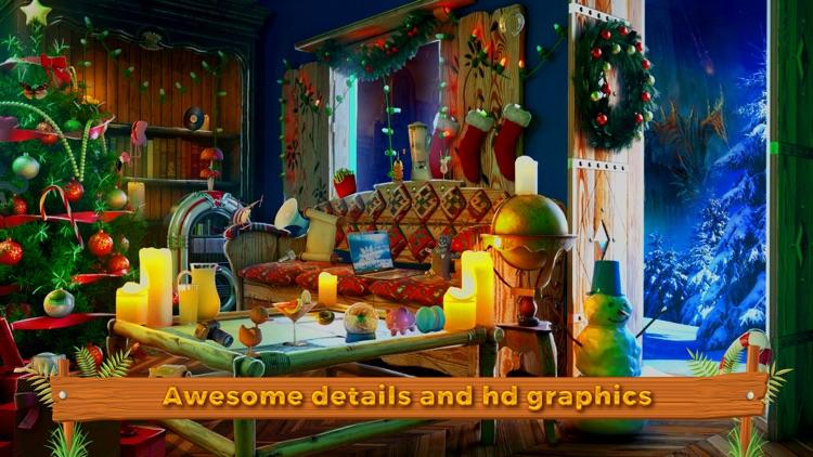Cozy Christmas Hidden Object screenshot-3