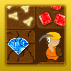 Treasure Miner - 2d gem mine