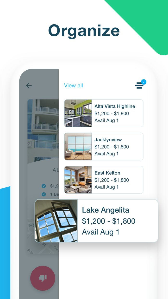Apartments & Houses for Rent Screenshot