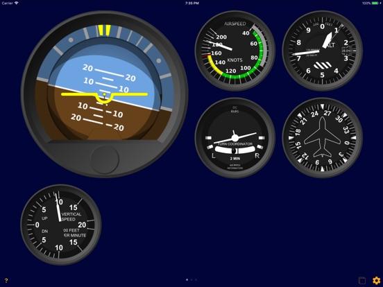 In-Flight Instruments Screenshots