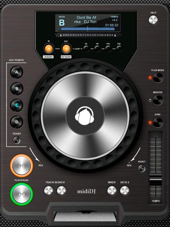 Midi DJ Screenshots