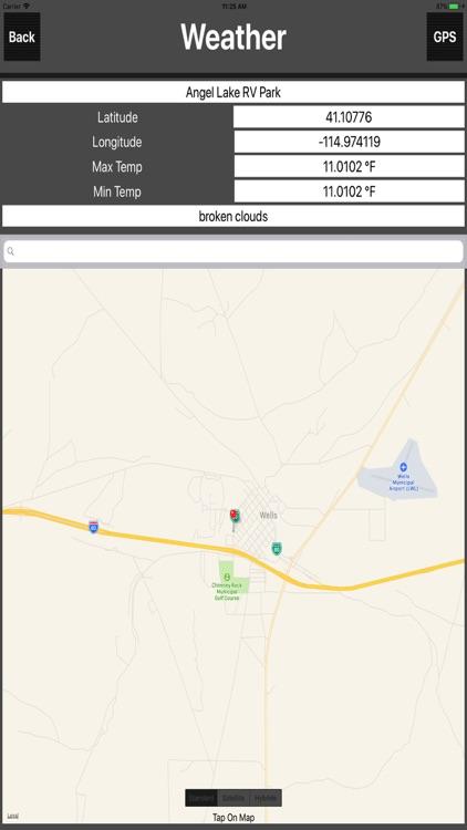 Nevada Camping Spots screenshot-4