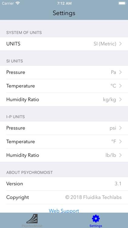PsychroMoist screenshot-3