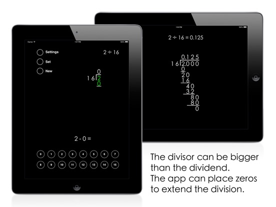 Long Division Screenshots