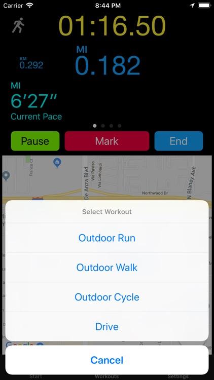 Outdoor Run++ screenshot-5