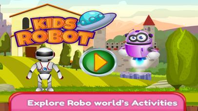 Kids Robot Game - Build & Jump