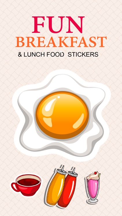 Foodie Food Stickers