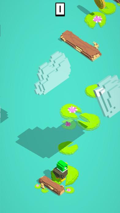 Fling - Jump, Collect & Unlock screenshot two