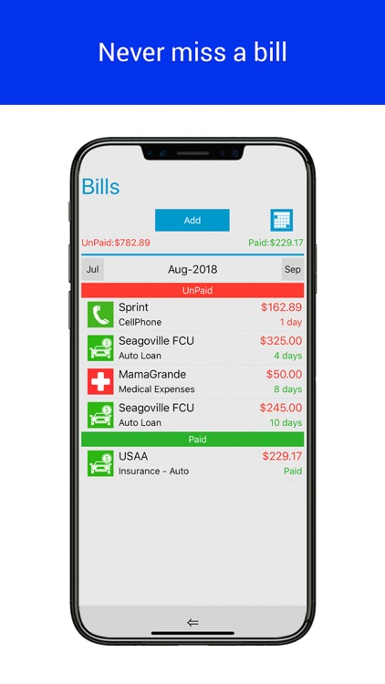 Home Budget Manager Lite screenshot-5