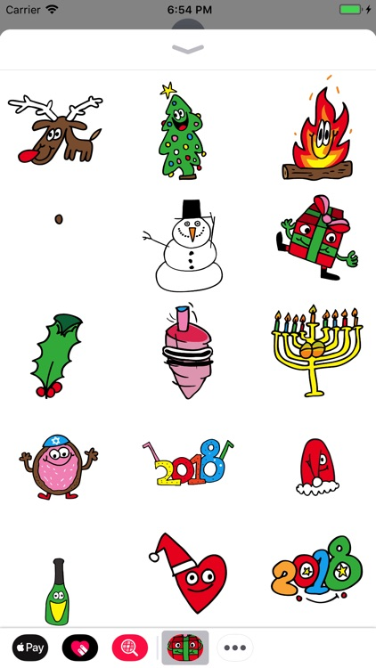 Holidaze Animated Stickers
