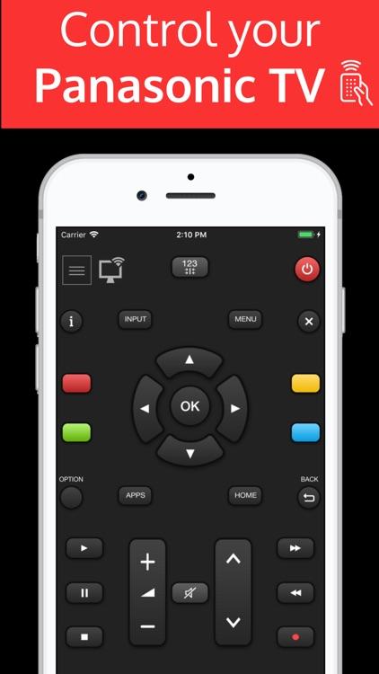 Panamote : Remote Panasonic TV