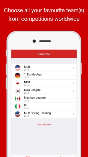 Baseball Schedules MLB edition on the App Store