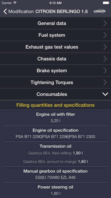 TechApp for Citroën screenshot-4