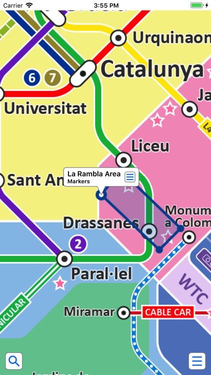 Barcelona Metro by Zuti screenshot-3