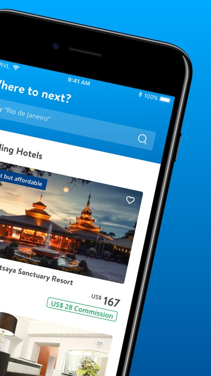 TRVL - The Hotel Booking App