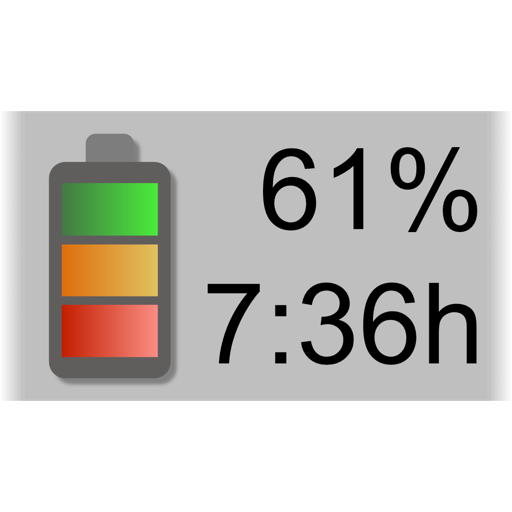 Battery Meter - Menubar time remaining and more