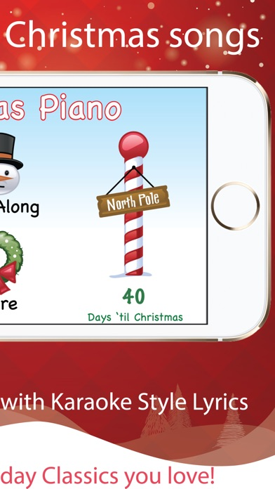 Christmas Piano with Songs iPhone