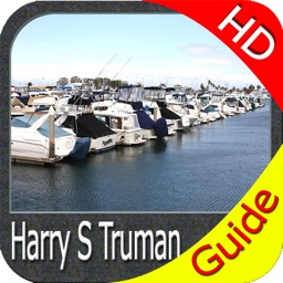Harry S Truman Reservoir charts HD GPS fishing map