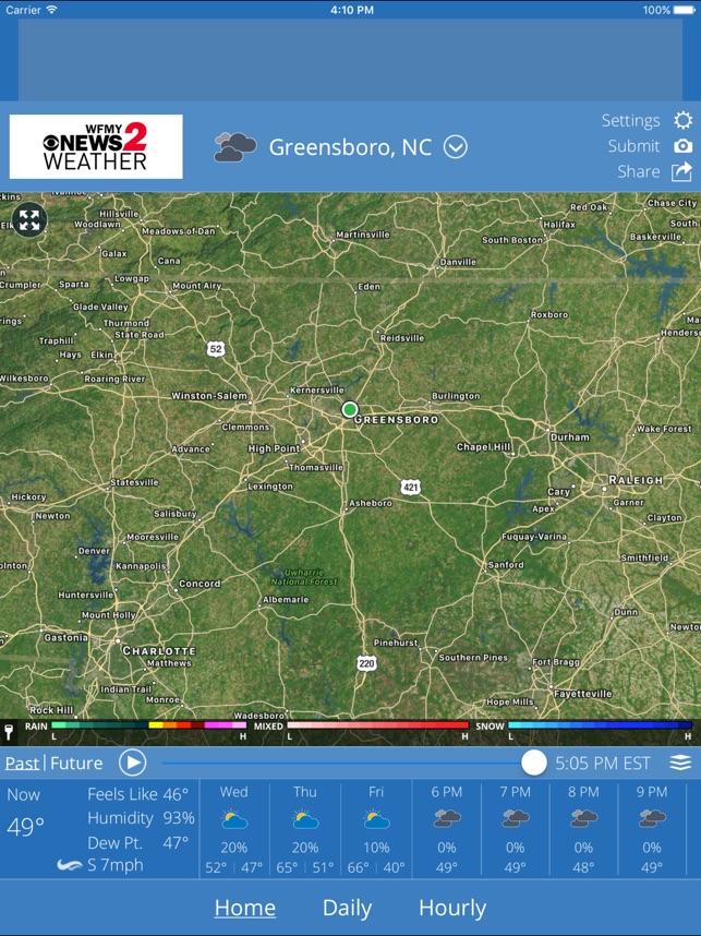 WFMY Radar on the App Store