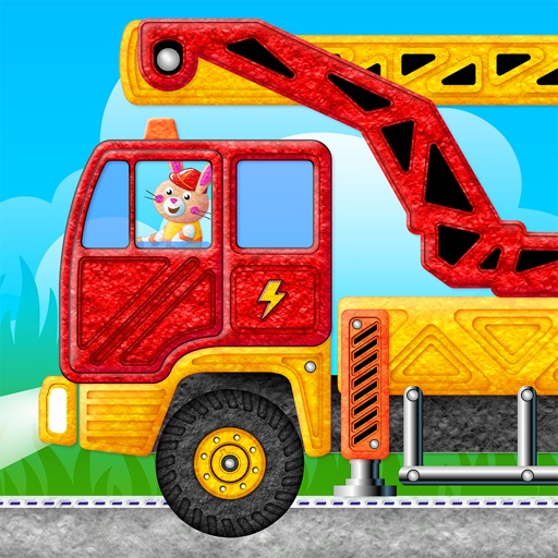 Learning Cars Educational Games for Preschool Kids iOS App
