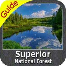 Superior National Forest - GPS Map Navigator