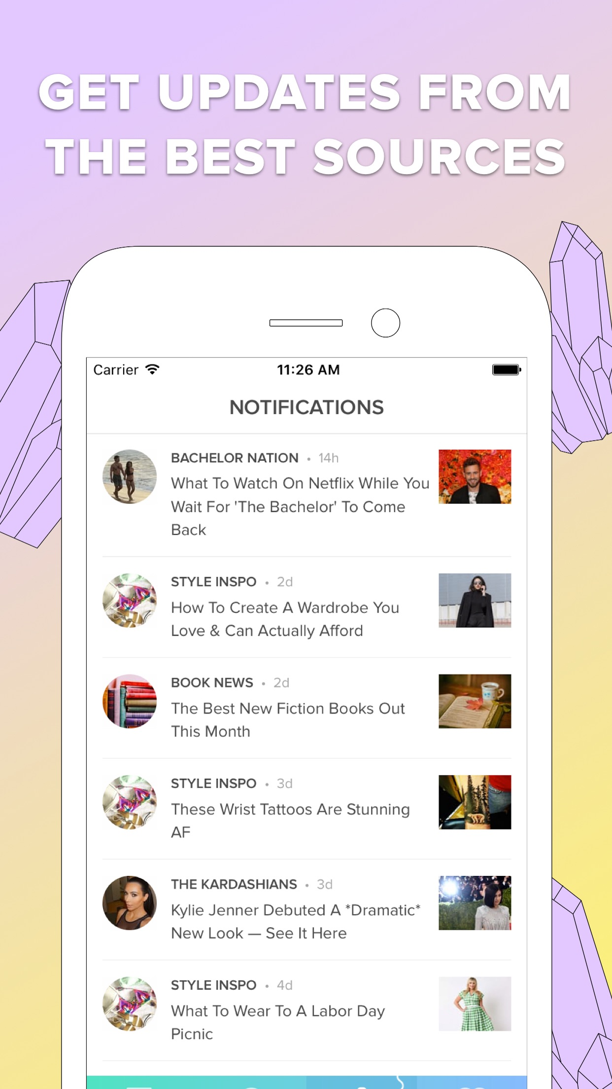 Bustle Screenshot