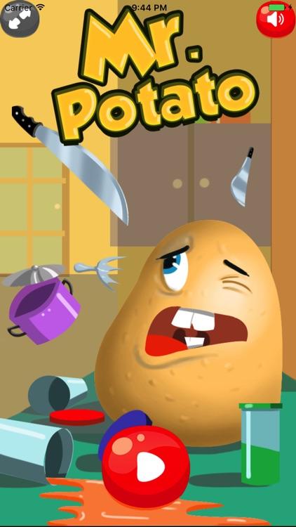 mr potato vs knifes