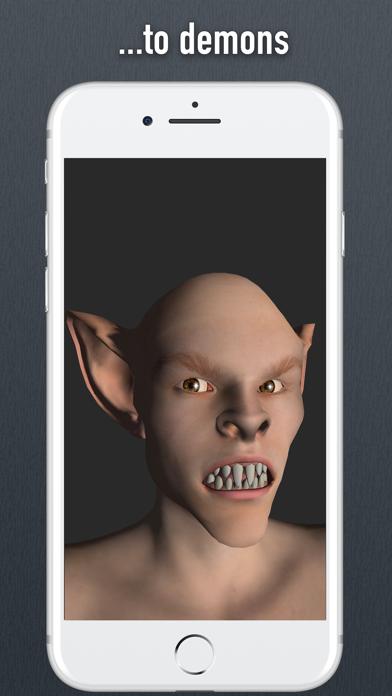 Face Model - 3D virtual human head for artists screenshot four