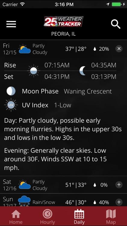 WEEK 25 Weather Tracker app screenshot-4