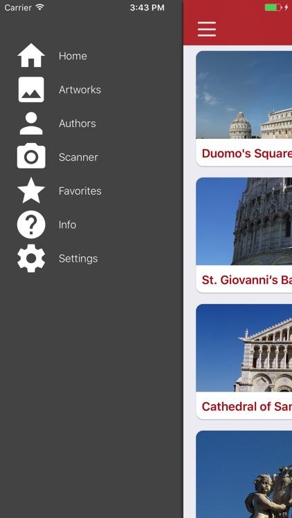 Pisa Miracles Guide screenshot-4
