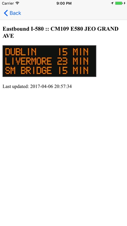Caltrans QuickMap screenshot-3