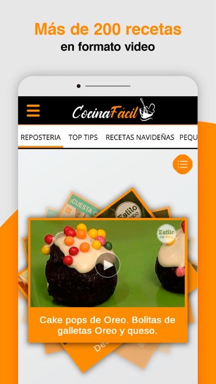 COCINA FÁCIL video recetas