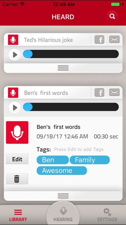 HEARD - the Plan B for memory screenshot-3