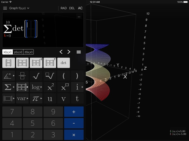 Visual Math 4D Screenshot