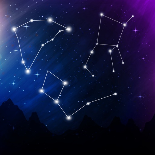 Night Sky View-Star Rover Space Navigation