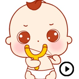 Baby Stickers Animated