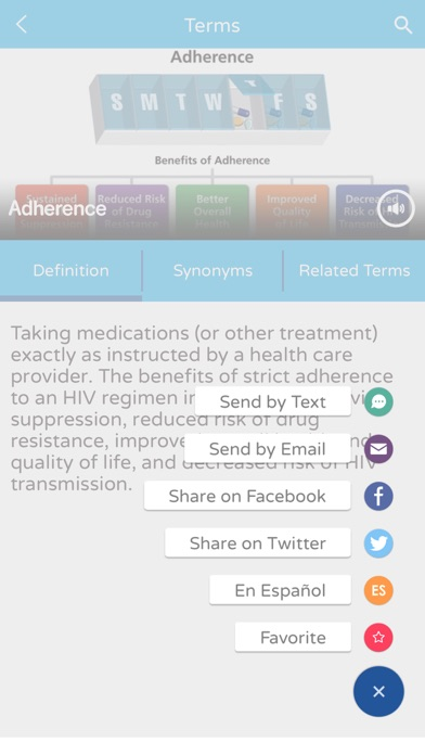 download AIDSinfo HIV/AIDS Glossary apps 1
