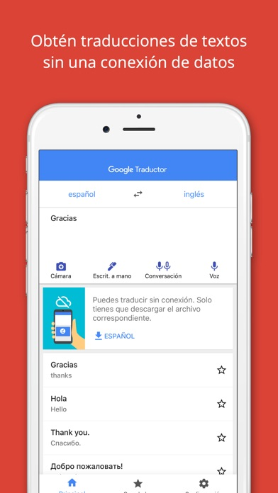 Screenshot for Google Traductor in Argentina App Store