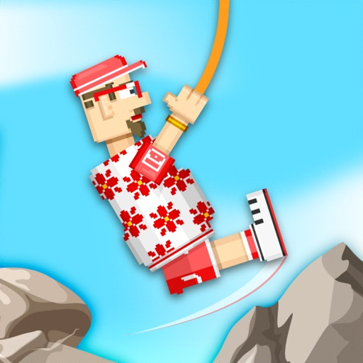 Rope Heroes : Hole Runner Game
