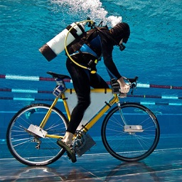 Underwater Bicycle Race