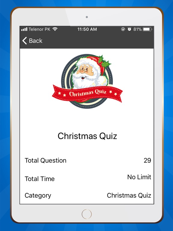 Christmas Trivia Quiz 2018 screenshot 5