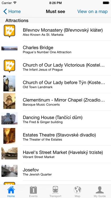 Prague Travel Guide Offline screenshot-3