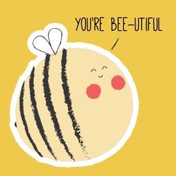 Bee Pun Sticker Pack
